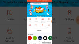 mall app trick for getting 100 cashback on mobile recharge on paytm mall