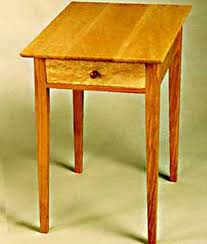 Shaker End Table Wilson Woodworking Shaker Furniture Traditional And