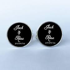 personalized wedding cufflinks 1 pairs men cufflinks high quality married cufflinks custom name