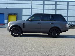 matte black range rover matte black range rover hse amazing wallpapers