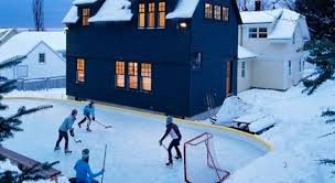 How To Make A Ice Rink In Your Backyard Backyard Ice Rink