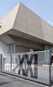 36 best garage images on pinterest architecture garage design maxxi signage what about our nameprinted large all along the parking lot in the fence where we do the privacy slats behind a wall of wild flowers