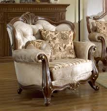 antique style living room furniture meridian 621 6 pc antique white french provincial living french