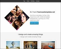 adobe muse mobile templates free and premium responsive adobe muse templates 56pixels