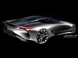 2012 lexus lf lc 2012 lexus lf lc hybrid sport coupe concept design sketch 3