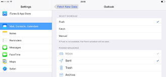 yahoo email not pushing to iphone delay in receiving new mail apple ipad forum