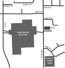 Moline Illinois Map Advanced Cardiovascular Consultants Moline Acvc Quad Cities