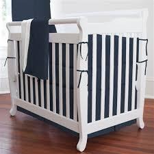 Mini Crib Bedding Solid Navy 3 Mini Crib Bedding Set Carousel Designs