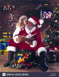 santa claus kiss book read christmas christmas santa