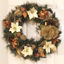 beautiful wreaths happy holidays
