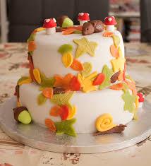 Fall Cake Decorations Fondant Taart Herfst Google Zoeken Fondant Taarten Pinterest