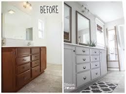 Bathroom Vanity Makeover Ideas by Top 25 Best Budget Bathroom Makeovers Ideas On Pinterest Budget