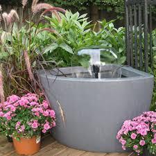 Patio Pond by Amazon Com Algreen 35002 Hampton Urban Balcony Deck Pond With