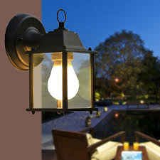 Outdoor Led Chandelier Luminaire Warandela Light Minimalist Outdoor Balcony Lamp Wall