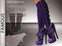 womens boots purple second marketplace bootgasm leather calf high boots