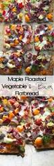 Roasted Vegetable Recipes by Maple Roasted Vegetable U0026 Crispy Bacon Flatbread