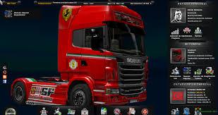ferrari truck skin scuderia ferrari gamesmods net fs17 cnc fs15 ets 2 mods
