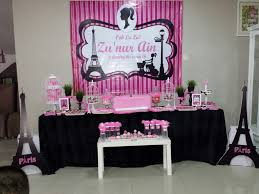 interior design awesome paris themed decorations for a party