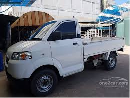suzuki pickup truck suzuki carry 2009 mini truck 1 6 in ภาคใต manual pickup ส ขาว for