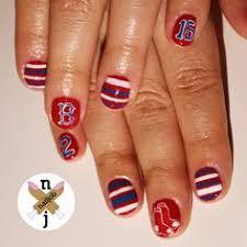 boston sox nail designs boston sox boston