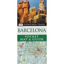 dk eyewitness pocket map and guide barcelona by dk world
