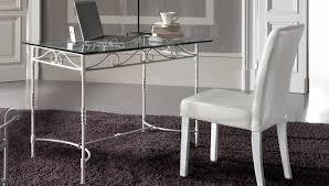 bureau fer forgé target point desk console tiepolo biurka