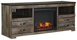 Electric Inserts For Existing Fireplaces Tv Console With Fireplace Tv Stands Walmart Com 4 Quantiply Co