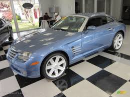 2005 aero blue pearlcoat chrysler crossfire limited coupe