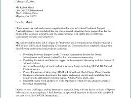 sample resume cover letter format example of cover letters for