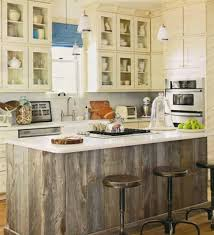 salvaged wood kitchen island weathered barn wood kitchen island from