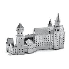 Neuschwanstein Castle Floor Plan by Innovatoys Metal Earth Neuschwanstein Castle 3d Miniature