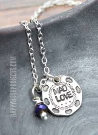 Hand Stamped Necklace Mad Love Hand Stamped Necklace Starter Set Giveaway Happy Hour