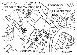 2004 nissan murano z50 starting charging system service and