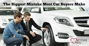 New Car Meme - biggest mistake car buyers make merrimack valley cu
