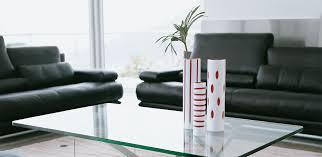 Designer Couchtisch Glas Prisma 1150
