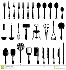 ustencile de cuisine kitchen utensil stock vector illustration of design 48395992