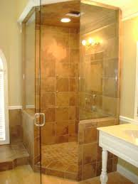 Angled Shower Doors Frameless Glass Showers And Glass Enclosures