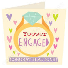 congratulations on engagement card yoower engaged congratulations cumbrian engagement card wot ma