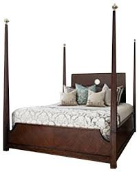 ambella home collection crown 4 poster bed king traditional
