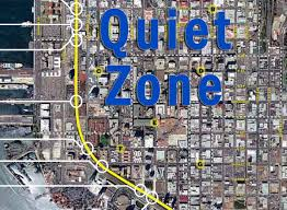 Maps San Diego by Downtown San Diego Quiet Zone Map Downtown Condo Living