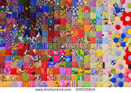 patchwork quilt stock images royalty free images vectors