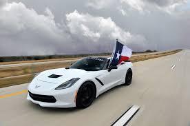 Corvette Flags Hennessey Tuned 2014 Chevrolet Corvette Eclipses 200 Mph On Texas