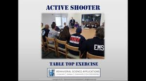 incident command table top exercises active shooter tabletop exercise youtube