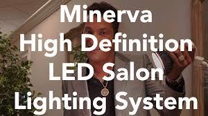 Salon Lighting Fixtures by Minerva High Definition Led Salon Lighting System Minerva Beauty