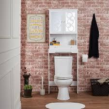 bathroom wondrous over toilet etagere for nice bathroom furniture