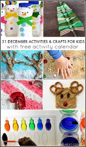 31 december activities for kids free activity calendar and