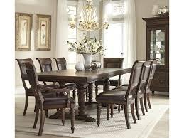Klaussner Dining Room Furniture Klaussner International Palencia Trestle Dining Table Darvin