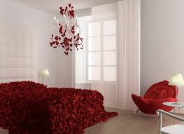 romantic bedrooms with roses and romantic bedroom ideas in red