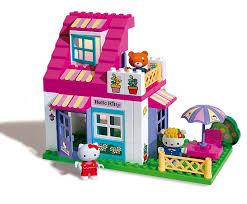 mookie hello kitty 59 piece house unico set amazon co uk toys