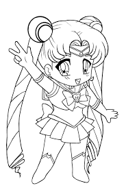 chibi sailor moon coloring pages sailor moon coloring pages